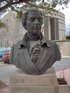 Busto de Balmis. San Juan de Alicante