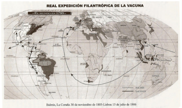 Itinerario de la expedición. Obtenido de http://murzainqui.blogspot.com.es