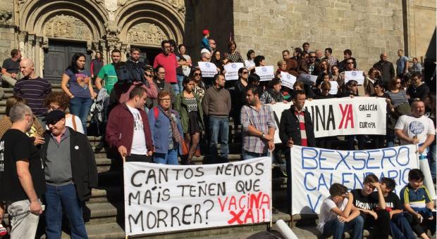 """Foto del diario """"La voz de Galicia"""" del 5/11/15"""