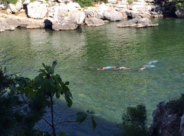 Lo que nadaban al día se podría medir en kilómetros!
